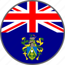 pitcairn, flag, pitcairn islands, country