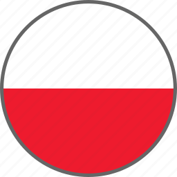 country, flag, poland icon