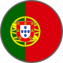 flag, portugal, country