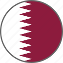flag, qatar, country