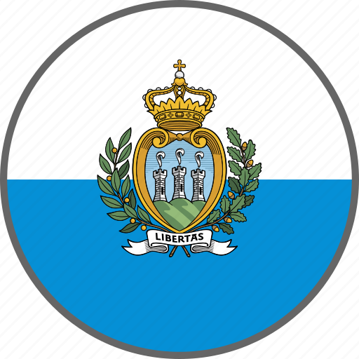 country, flag, san marino icon