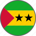 country, flag, principe, sao tome and principe icon