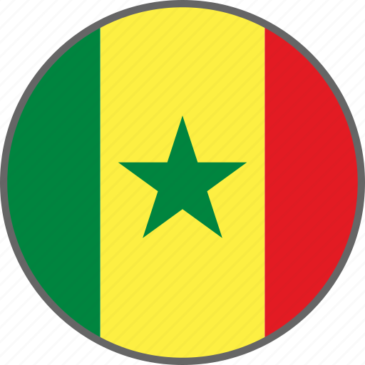Flag, senegal, country icon - Download on Iconfinder