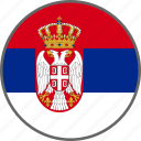 flag, serbia, country