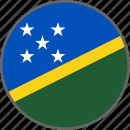 country, flag, solomon, solomon islands icon