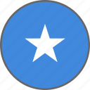 country, flag, somalia icon
