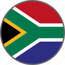 flag, south africa, country
