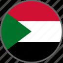 flag, sudan, country icon