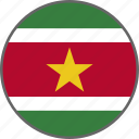 flag, suriname, country