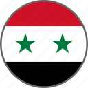 syria, flag, country