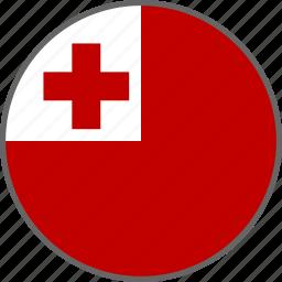 country, flag, tonga icon