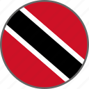 country, flag, tobago, trinidad, trinidad and tobago icon