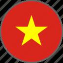flag, vietnam, country
