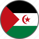country, flag, sahara, western sahara icon