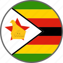 flag, zimbabwe, country