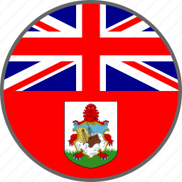 bermuda, country, flag icon