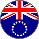 cook islands, country, flag icon