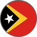 country, east timor, flag, timor, timor-leste icon