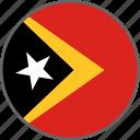 country, east timor, flag, timor, timor-leste icon