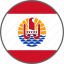 country, flag, french polynesia, polynesia icon
