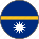flag, nauru, country