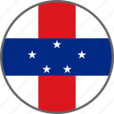 netherlands antilles, flag, antilles, country