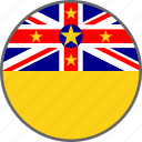 flag, niue, country