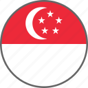 flag, singapore, country
