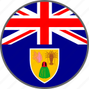 caicos, flag, turks and caicos, turks, country