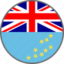 country, flag, tuvalu icon