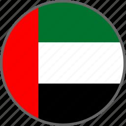 country, flag, uae icon