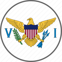 country, flag, virgin icon