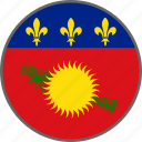 country, flag, guadeloupe icon