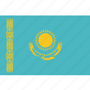 country, flag, kazakhstan, national