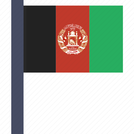 afghan, afghanistan, afghanistani, asian, country, flag, national icon