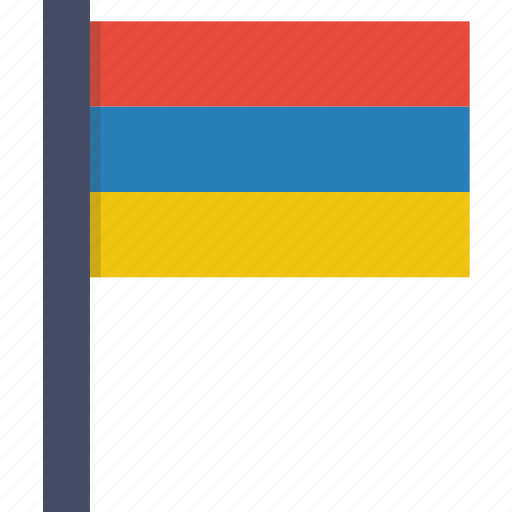 armenia, armenian, country, european, flag, national icon