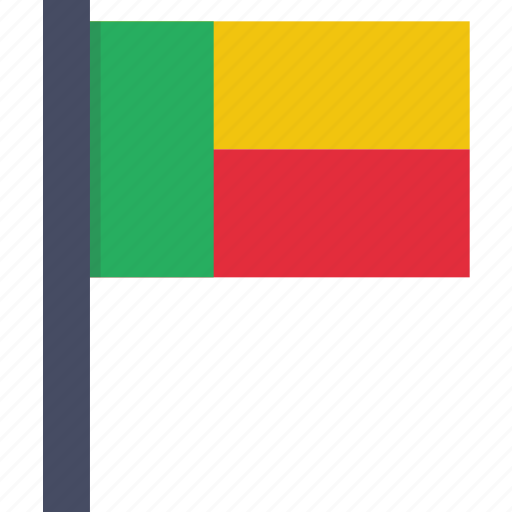 african, benin, beninese, country, flag, national icon