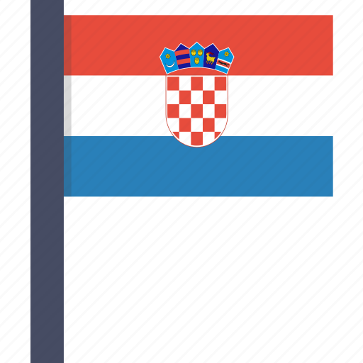 country, croatia, croatian, european, flag, national icon