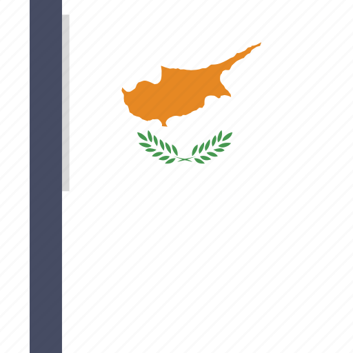 country, cyprus, flag, national icon