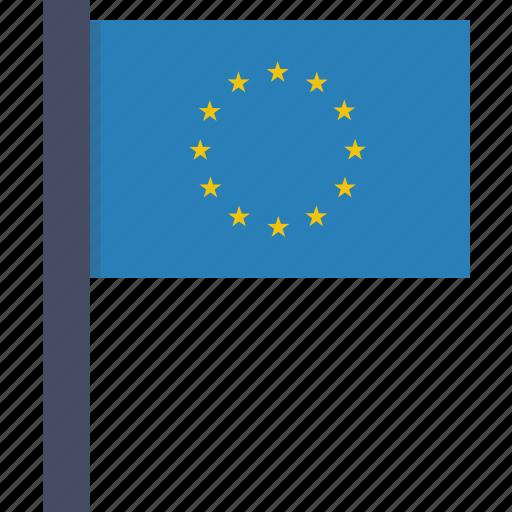 eu, europe, european, flag, union icon