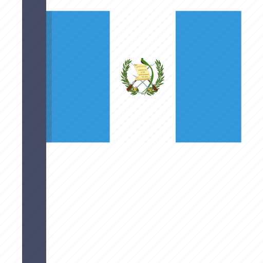 country, flag, guatemala, guatemalan, national icon