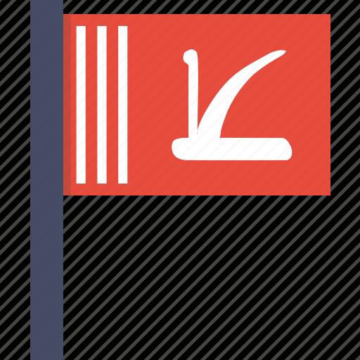 flag, jammu, kashmir, kashmiri icon