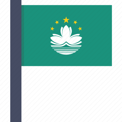 country, european, flag, macau, national icon
