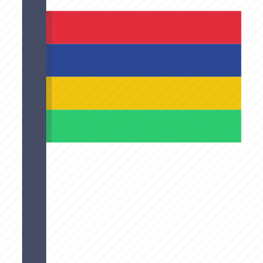 african, country, flag, mauritian, mauritius, national icon