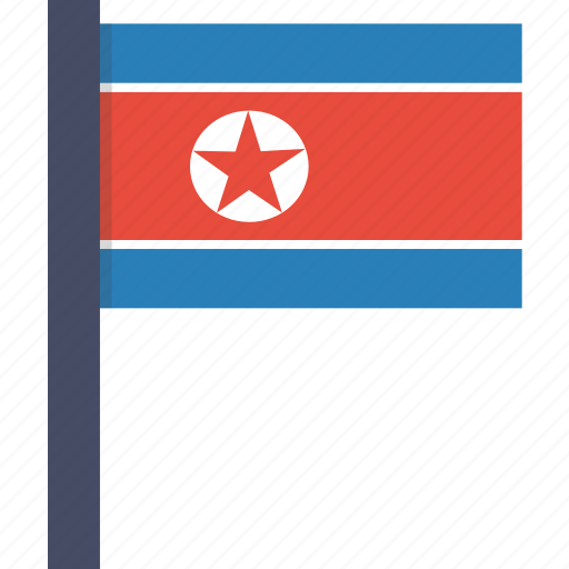 asian, country, flag, korea, korean, national, north icon