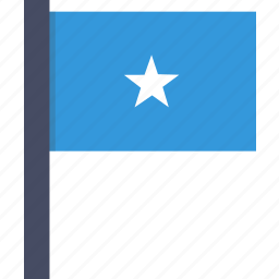 african, country, flag, national, somalia, somalian icon