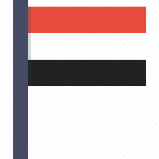 asian, country, flag, national, yemen, yemeni icon