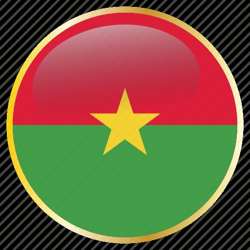 africa, bfa, burkina, faso, ouagadougou, west icon