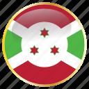 africa, african, burundi, burundian icon