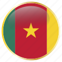 africa, african, cameroon, central, cmr icon